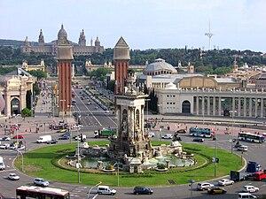 Plaça d'Espanya, Barcelona - Plaça d'Espanya