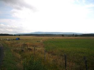Montbel, Lozère - The plain of Montbel