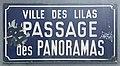 Plaque Passage Panoramas - Les Lilas (FR93) - 2021-04-27 - 1.jpg