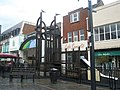Play Area outside Shopping Mall - geograph.org.uk - 615901.jpg