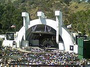 The Playboy Jazz Festival in Los Angeles 2007. Bill Cosby is on stage.