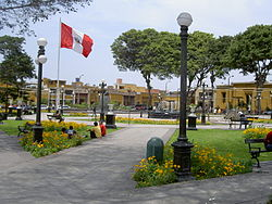 Main Square in Pueblo Libre.