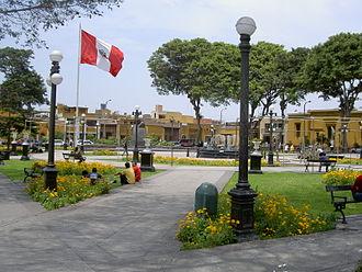 Pueblo Libre - Main Square in Pueblo Libre.