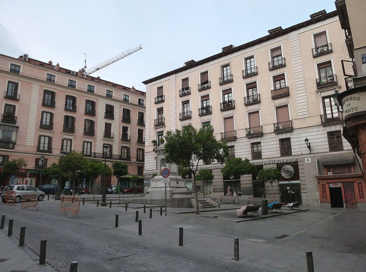 Plaza de pontejos wikipedia la enciclopedia libre - Casa de labranza madrid ...