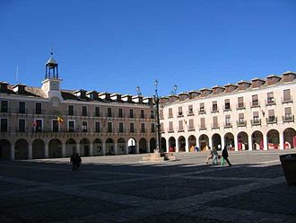 Ocaña, Spain - Image: Plaza mayor de Ocaña 2