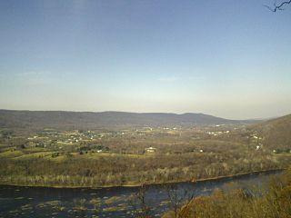 valley in Washington County, Maryland, United States