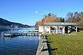 Poertschach Poertschach Werftenstrasse 73 Bootshaus der Villa Stefanie Turkovic 07122013 133.jpg