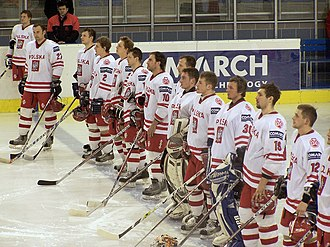 Poland men's national ice hockey team - The national team in 2006.