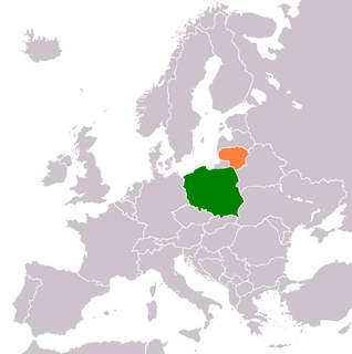 Diplomatic relations between the Republic of Lithuania and the Republic of Poland