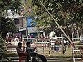 Police Checkpoint with Closed-Off Muslim (Rohingya) Area (Aung Mingalar) - Sittwe - Rakhaing (Arakan) State - Myanmar (Burma) (12232262756).jpg