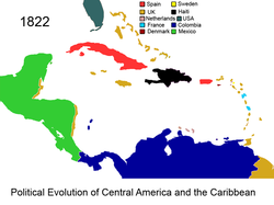 Political Evolution of Central America and the Caribbean 1822 na.png