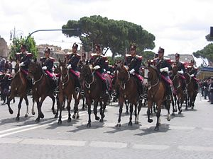 History of the Italian State Police - Mounted State Police