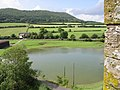 Pond from Stokesay Castle - geograph.org.uk - 305456.jpg
