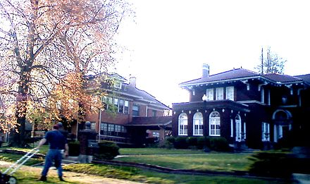 19th century residential neighborhood in Harrisburg.