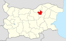 Popovo Municipality within Bulgaria and Targovishte Province.