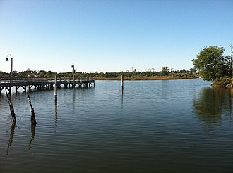 Poquoson, Virginia - Image: Poquoson Whitehouse Cove Dock Fall 2011