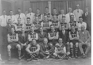 1928 SANFL season - 48th SAFL season Pictured above is the Port Adelaide premiership team.