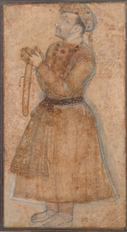 Portrait of Emperor Jahangir Praying