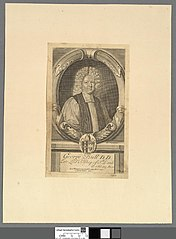 George Bull, D.D. late Lord Bishop of St. David's ob 17 Feb 1709 ; eta 76