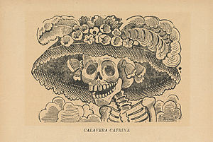 "English: ""La Calavera Catrina"""