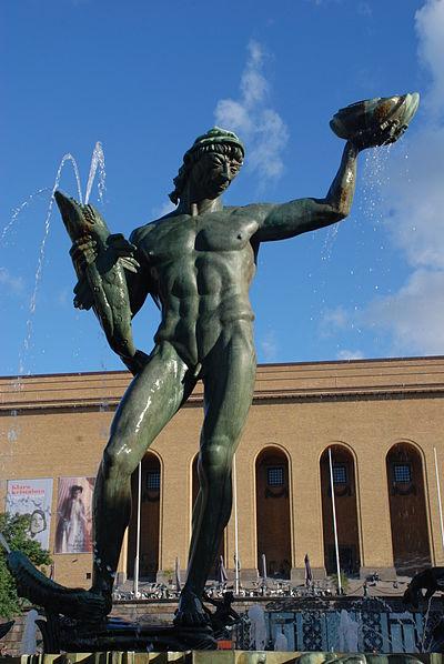 Poseidon på Götaplatsen, Göteborg
