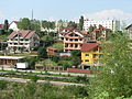 Post-communist suburbanization in the Pitesti, Romania (2009).JPG