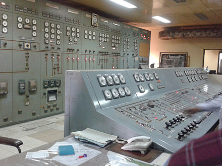 Control room of a power plant Power plant control room.jpg