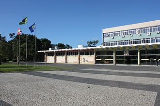Federal University of Santa Catarina - Rectory of the University.
