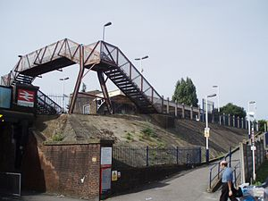 Portchester railway station - Image: Pr Nrh Enrt 1010015