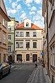 Praha 1, Jalovcová 232-1, Husova 232-10, U tří stříbrných růží 20170809 001.jpg