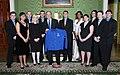 President George W. Bush Poses with NCAA Sports Champions - DPLA - 94e1817253a572484cbab5b129e3b46d.jpg