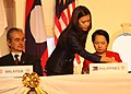 President Gloria Macapagal-Arroyo sign the Declaration of the Road Map for an ASEAN Community 2009-2015 (02).jpg