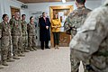 President Trump the First Lady Visit Troops in Iraq (46502780991).jpg