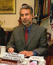 Xanana Gusmão, Präsident von Timor-Leste