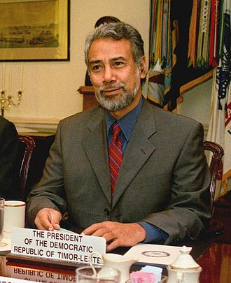History of East Timor - Xanana Gusmão, first President of East Timor and present Prime Minister.