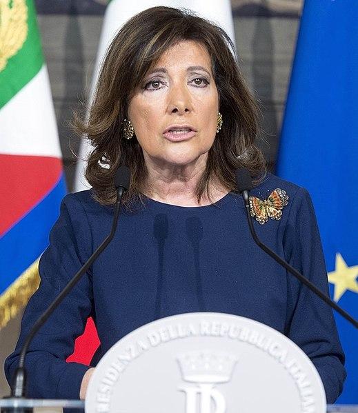 Maria elisabetta alberti casellati attuale presidente for Senato della repubblica indirizzo