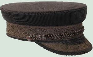 Cord (sewing) - Application: A peaked cap, being decorated with a certain type of cord.