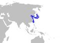 Pristiophorus japonicus distmap.png