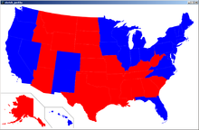 United States Presidential Election Map Edit