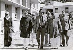 Prof. Sharif Ahmed Chughtai, Prof. Desnavi, Ali Sardar Jafri,Mr. Fakhruddin,Dr. Ashfaq Ali.jpg