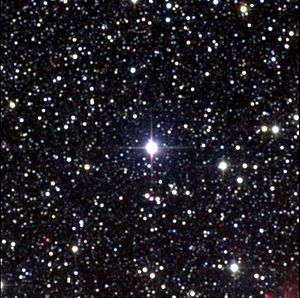 English: Proxima Centauri, the closest star to...