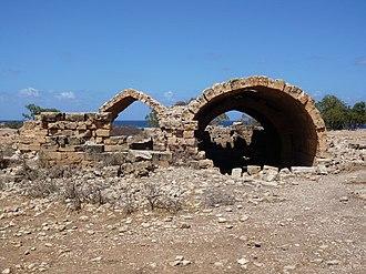 Ptolemais, Cyrenaica - Cistern