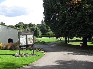Pudsey - Pudsey Park - opened in October 1889