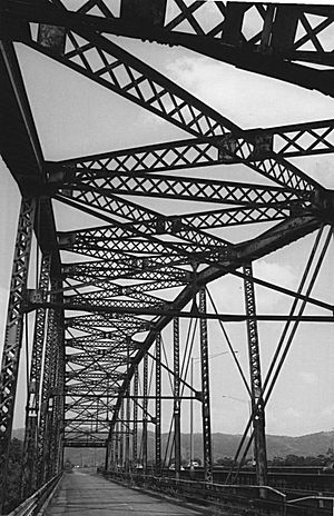 Añasco, Puerto Rico - Puente Salcedo de Añasco, old bridge over the Rio Grande de Añasco