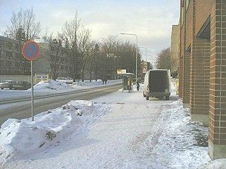 Pukinmäki - Image: Pukinmäki Helsinki 2
