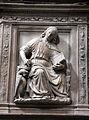 Pulpito del duomo di pietrasanta, evangelisti di bertoccio e filippo casoni (1504-08), giovanni.JPG