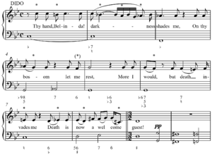 Figured bass - Image: Purcell diatonic chromaticism