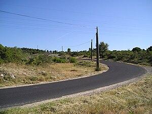 2009 Tour de France, Stage 1 to Stage 11 - Image: Quatre Pilas descente nord 28062009
