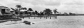 Queensland State Archives 386 Maroochydore looking from the Maroochy River towards buildings on the river bank c 1931.png