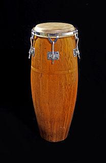 Quinto (drum) highest-pitched conga drum